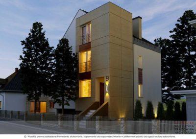 Przebudowa domu jednorodzinnego, Jelenia Góra