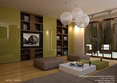 Jeżów Sudecki -Aranżacja wnętrz dom prywatny