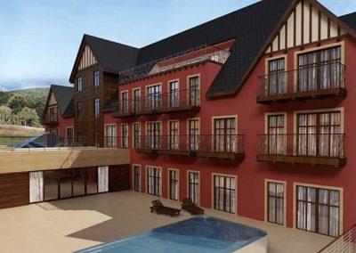 Rozbudowa pałacu Margot