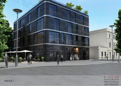 Budynek usługowo-mieszkalny, Jelenia Góra